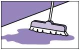 Очистить поверхность